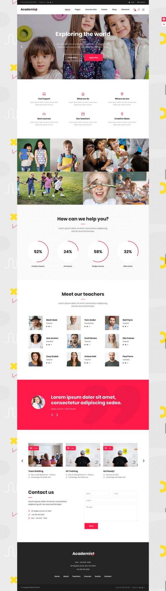 GD0727 – Web Dạy Học Online Cho Trẻ Có Quản Trị Edator
