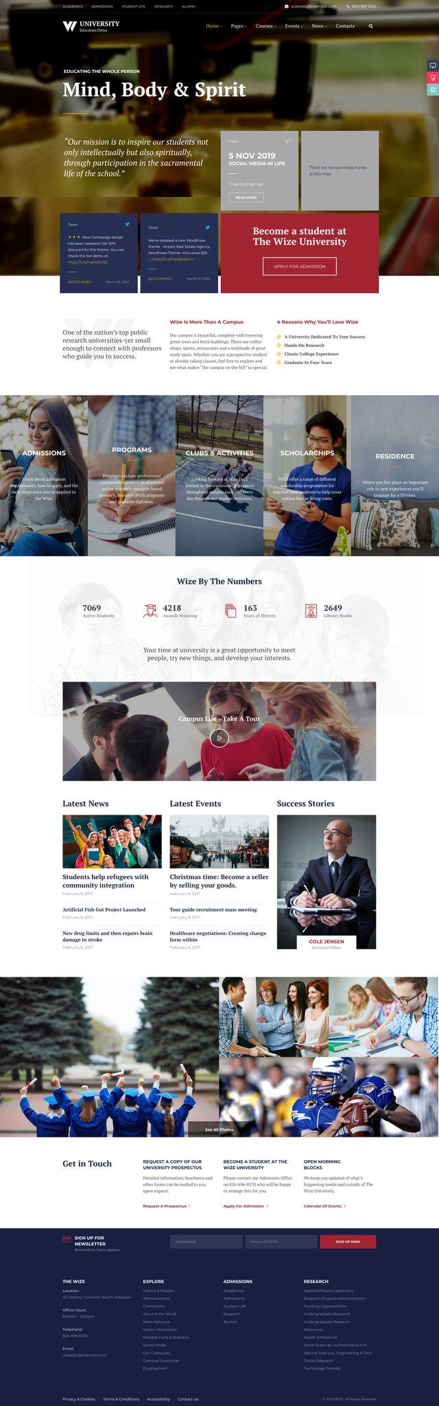 GD0731 – Website Dạy Học Và Tổ Chức Sự Kiện Wizêdu